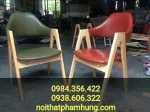 Ghế gỗ đệm cao cấp nhập khẩu
