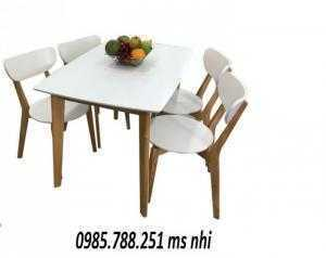 Bàn ghế cafe gỗ cao cấp sang trọng
