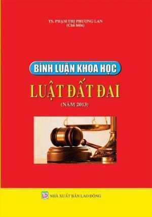 Bình luận khoa học luật đất đai