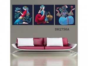 Tranh nghệ thuật cô gái DH2750A
