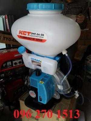 Giá máy phun vôi bột, máy xạ phân KCT 3WF-3A-26