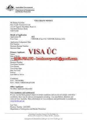 Dịch vụ làm visa Úc uy tín, chuyên nghiệp và thành công cao