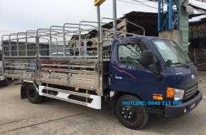 Giá xe Huyndai HD99 6,4 tấn, thùng mui bạt inox, có xe giao ngay.