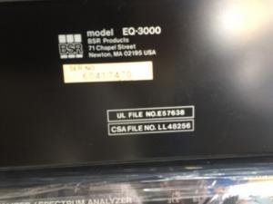 Bán EQ SBR 3000 ( USA )