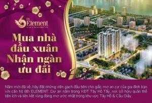 Chung Cư Tây Hồ - 6TH ELEMENT - C51 Bộ Công...