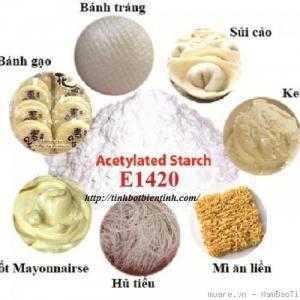 Tinh bột biến tính trong sản xuất bánh phở, hủ tiếu, bún