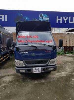 Xe tải iz49 2,5 tấn thùng mui bạt