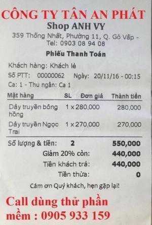 Cung cấp máy tính tiền cho Shop giày dép tại Thanh Hóa giá rẻ