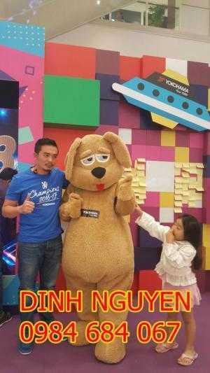 May mascot, linh vật biểu diễn, giá rẻ, đẹp nhất Sài Gòn