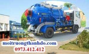 Hút hầm cầu phường Bình An Quận 2 chuyên nghiệp nhanh sạch