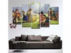 Tranh nghệ thuật về tôn giáo kthuoc 150x90