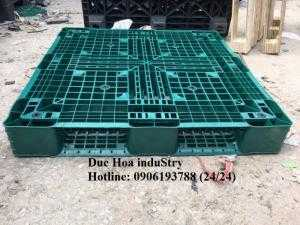 Pallet nhựa cũ giá rẻ tại Trà Vinh