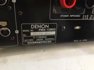 Bán chuyên Ampli denon 1090G hàng bải từ nhật v