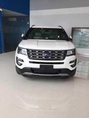 Ford Bến Thành Tây Ninh bán Ford Explorer 2018 Facelif màu trắng, xe 7 chổ cao cấp, SUV nhập Mỹ. giao xe liền
