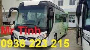 Xe Thaco tb85s 2018 29 chỗ bầu hơi mới nhất