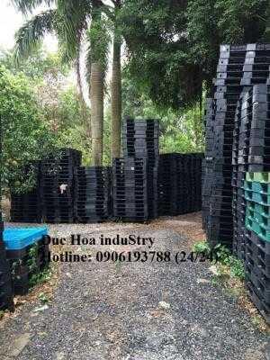 Duc Hoa induStry chuyên mua bán pallet nhựa cũ, pallet nhựa mới