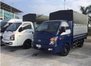 Hyundai porter H150 1.5 tấn tiêu chuẩn EURO4  năm 2018 bán trả góp