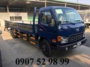 Xe tải Hyundai 8,1 tấn HD120SL thùng lửng 6m3 tại Kiên Giang, An Giang, Sóc Trăng, Cần Thơ