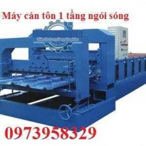 Máy Cán Tôn 1 Tầng Ngói Sóng- Madein  Việt Nam