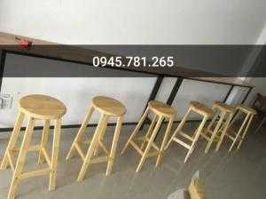 Ghế cafe , ghế gỗ cao quầy bar giá rẻ