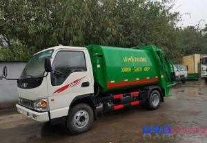 Xe cuốn ép rác Jac HFC1048K 6 khối (6m3) 3.5...