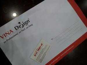 In bao thư giá rẻ tại TPHCM