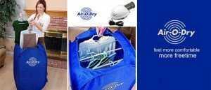 Máy sấy khô quần áo đa năng Air-O-Dry cứu tinh mùa mưa - MSN383253