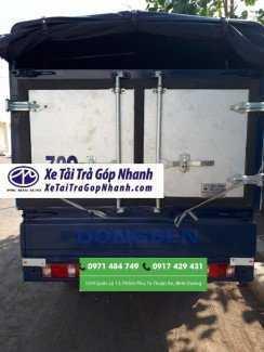 xe tải dongben 810kg,vào thành phố Xe tải Phú Mẫn mua bán xe trả góp lãi suất thấp