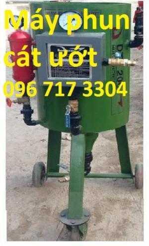 Máy phun cát ướt DT - 200 giá xuất Xưởng - bảo hàng 24 tháng