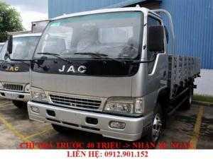 Xe tải Jac 4.95 tấn - 4T95 (4 tấn 95)- 5 tấn thùng dài 4.3 mét trả góp giá rẻ