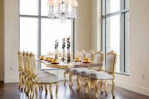 Bán bàn ăn tân cổ điển - xưởng nội thất cổ điển cao cấp