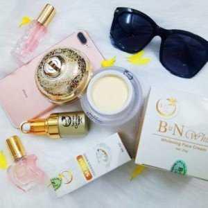 Mỹ phẩm trắng da tự nhiên BN White, cung cấp collagen