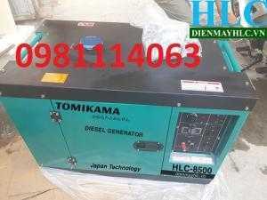 Máy phát điện chạy dầu Tomikama chính hãng giá rẻ