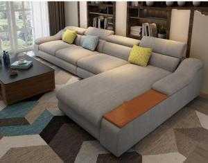 Sofa phòng khách cao cấp rẻ đẹp bền/ sofa bọc vải bố,  nhung, da công nghiệp - Nội Thất Hoàng Thạch