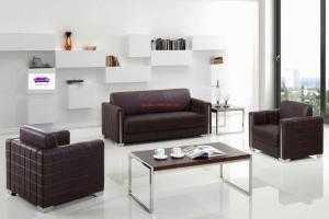 Sofa phòng khách cao cấp rẻ đẹp bền/ sofa bọc da công nghiệp - Nội Thất Hoàng Thạch