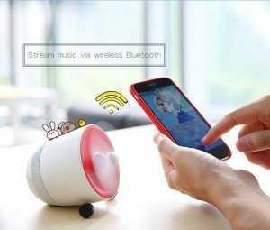 Loa Bluetooth Kiêm Quạt Độc Đáo Rock RAU0575 - MSN388331