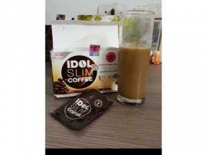 Cafe giảm cân IDOL SLIM COFFEE nhập khẩu Thái Lan (15g X 10 gói)
