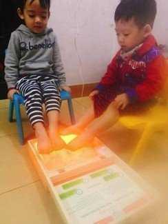 Bán đá muối Himalaya massage chân giá rẻ