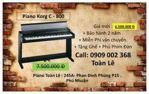 Đàn Piano Điện KORG C-800