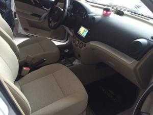 Bán Chevrolet Aveo LTZ 1.4AT màu trắng số tự...
