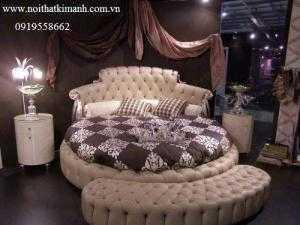 Giường tròn giá rẻ 03 tại TPHCM, kích thước giường tròn 230cm