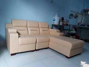 Sofa phòng khách giá rẻ bọc da công nghiệp- Xưởng sản xuất sofa giá rẻ tại HCM