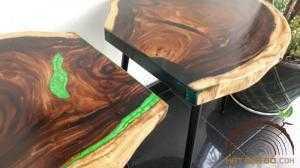 2018-03-22 21:05:51 Mặt bàn gỗ Me Tây đổ epoxy 1,700,000