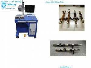 Máy Laser fiber khắc kim loại ( khắc đồng, nhôm ,..)