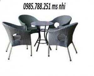 Bàn ghế cafe sân vườn giá rẻ nhất
