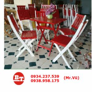 Bàn ghế cafe KT 334