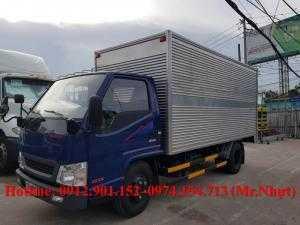 Xe tải Hyundai IZ49 2.4 tấn được chạy vào thành phố, xe có sẵn máy lạnh