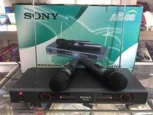 Micro không dây Sony AK-88 model 2018 giá đẹp 990K bộ 2 micro