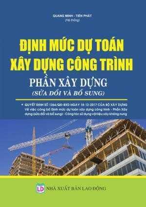 Định mức dự toán xây dựng công trình