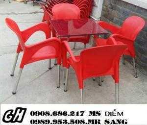 Chuyên sản xuất bàn ghế cafe giá rẻ nhất hgh051